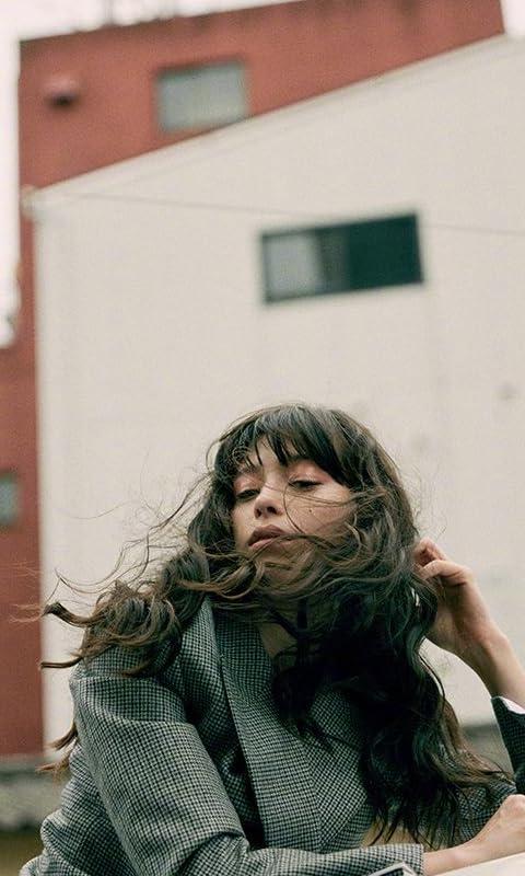 中条あやみ FVGA(480×800)壁紙 髪をたなびかせ 女性タレント