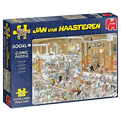 Jan Van Haasteren, The Kitchen Jigsaw Puzzle (500 XL Pieces): Toys & Games