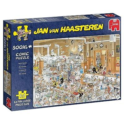 Jan Van Haasteren, The Kitchen Jigsaw Puzzle (500 XL Pieces): Toys & Games