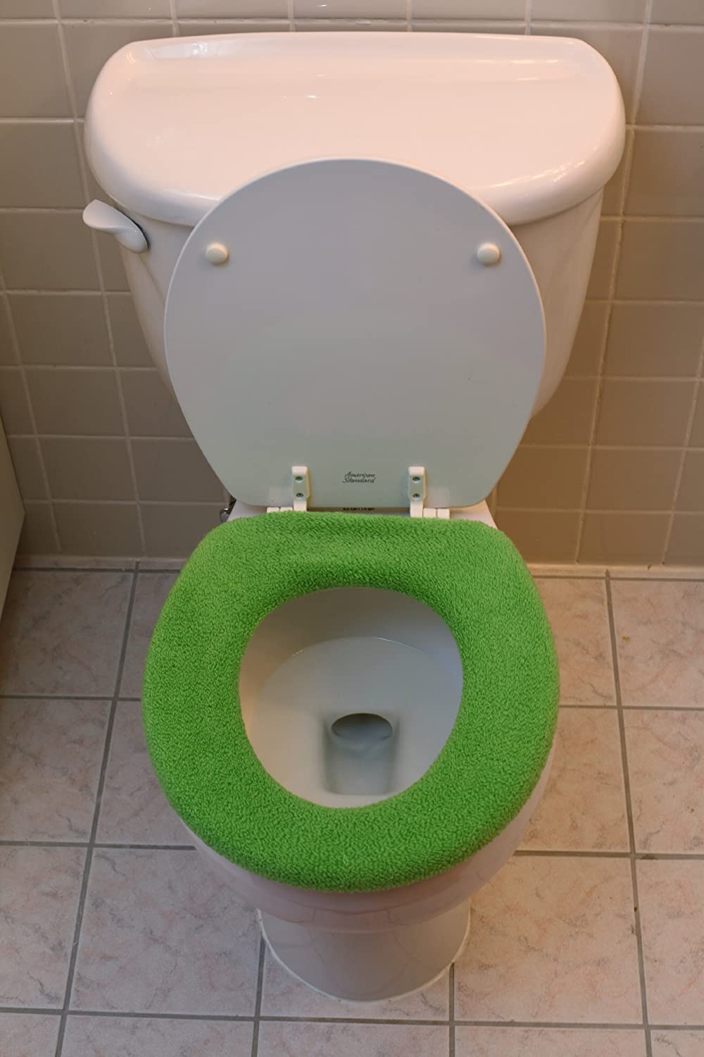 Com Warm And Fuzzy Toilet Seat Covers Green Home Kitchen