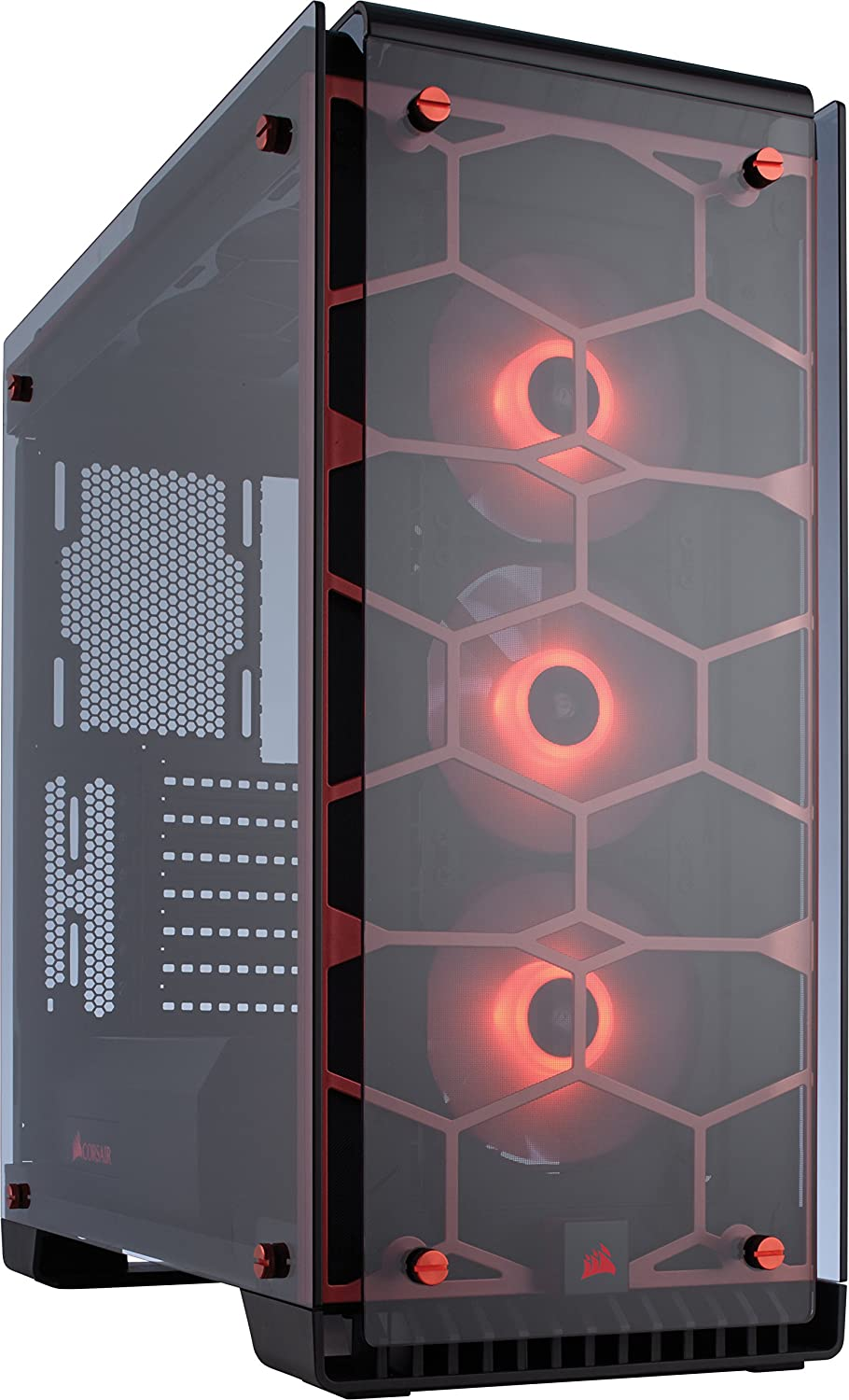 CORSAIR Crystal 570X RGB Mid-Tower Case, 3 RGB Fans, Tempered Glass - Mirror Black Corsair - IMPORT FOB HKG CC-9011126-WW