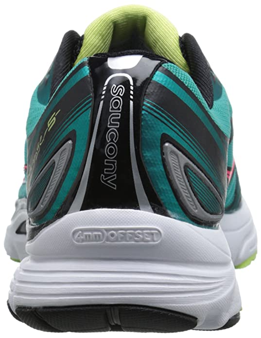 Saucony Mirage 5 Fibra sintética Zapato para Correr, Blu Ctn