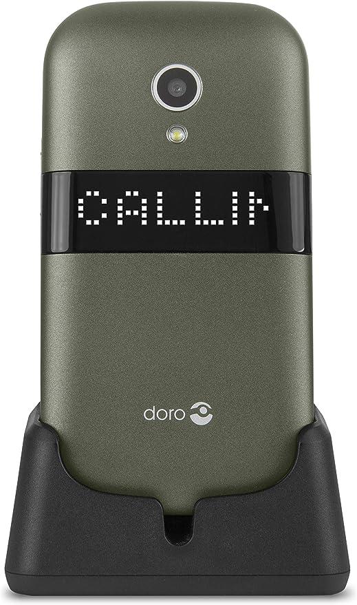 Doro 6050 - Teléfono móvil con tapa (formato concha) 3 MP ...
