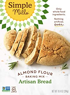 product image for Simple Mills Almond Flour Baking Mix, Gluten Free Artisan Bread Mix, Made with whole foods, (Packaging May Vary), 10.4 Ounce (Pack of 1)