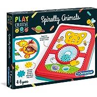 Clementoni - 15275 - Play Creative - Spiral Hayvan Çizimleri