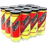Penn Coach Pressurized Tennis Balls - Regular Duty Felt Practice & Training Tennis Balls - 12 Cans, 36 Balls