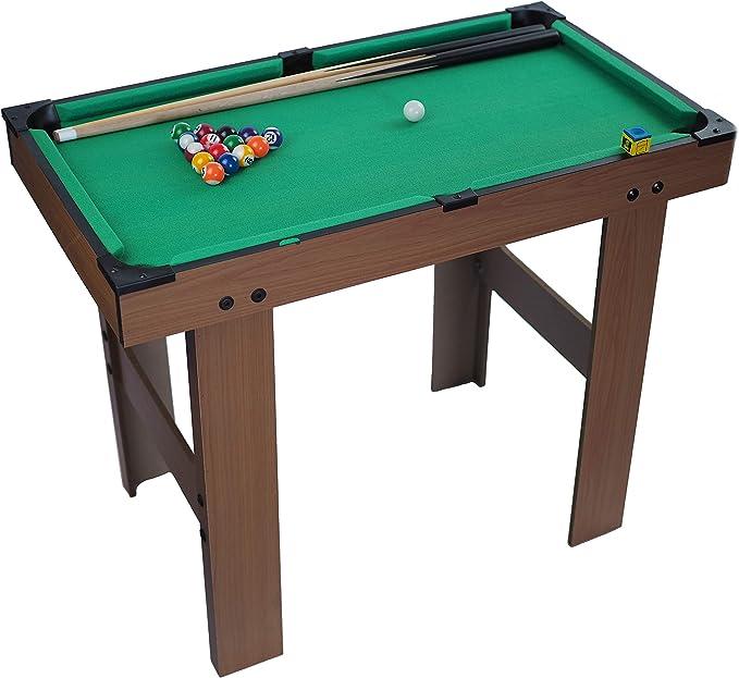 Tao Spielzeug Mesa de Billar portátil de Madera para niños de Gran ...