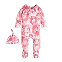 Burt's Bees Baby Baby Organic Footed Coverall and Hat Set