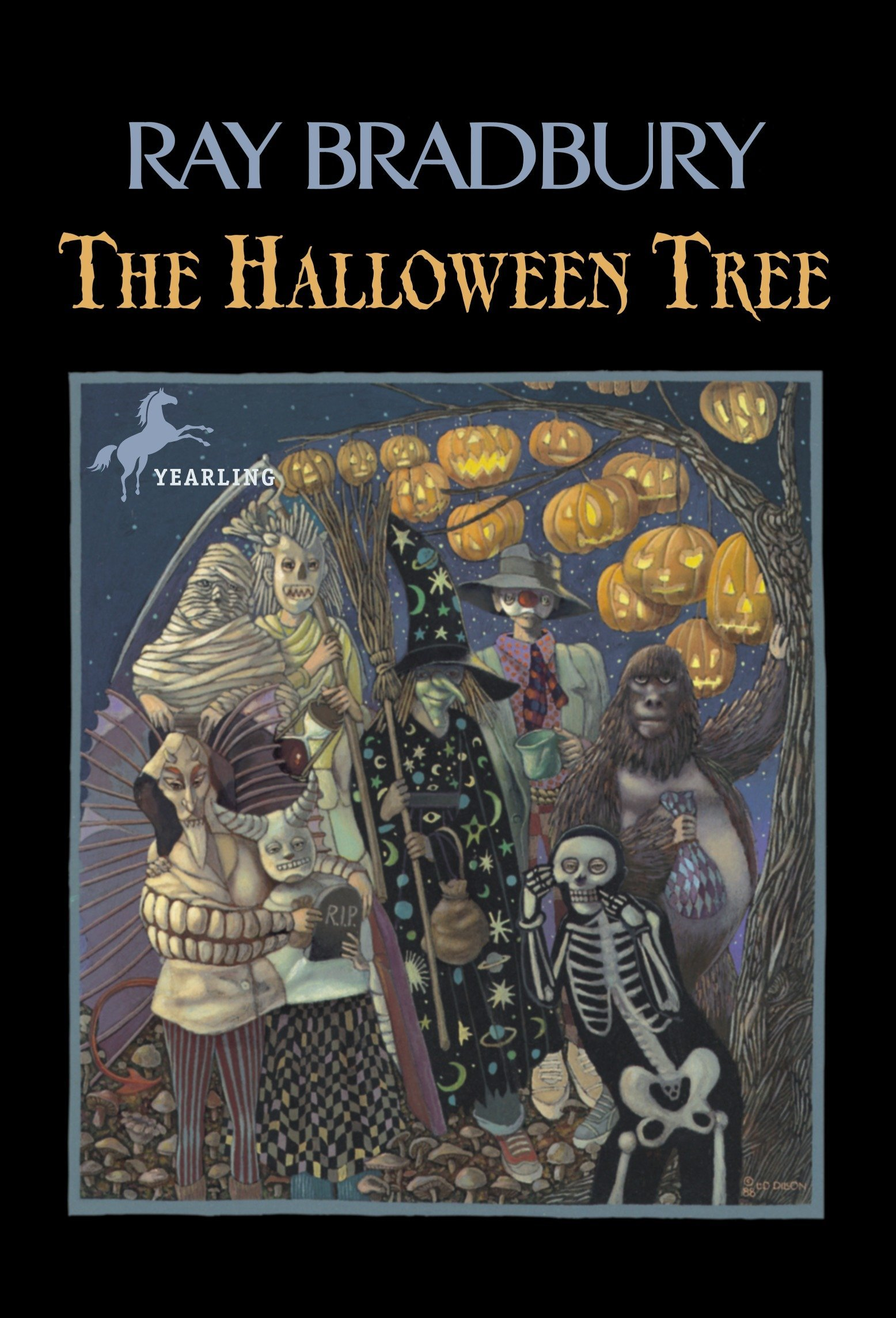 Image result for the halloween tree by ray bradbury