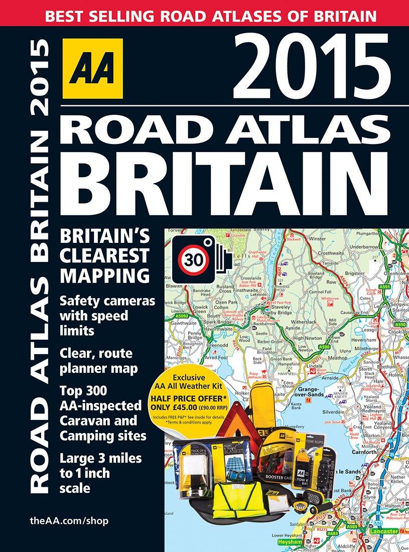 AA Road Atlas Britain 2015