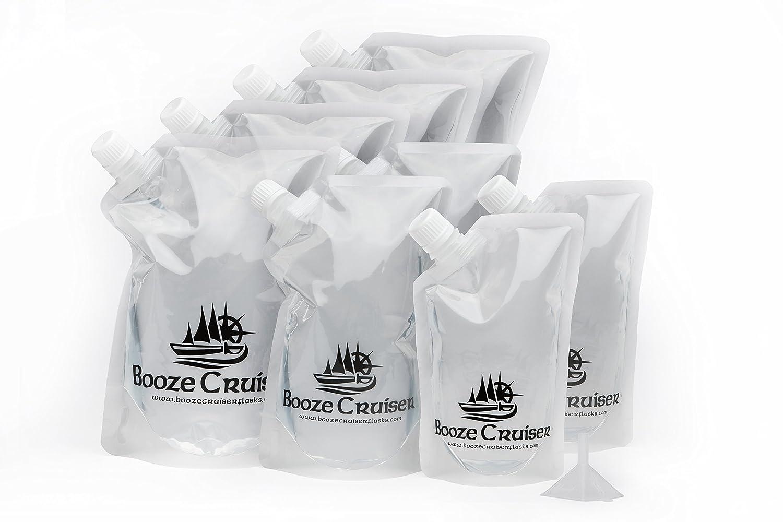 独特の上品 Booze Cruiserつ Cruiser (4x32oz, Travel Funnel) Cruise Flasks Great for Sneaking Alcohol Anywhere You Want a Rum Runner Cocktail (4x32oz, 2x16oz, 2x8oz + Funnel) by Booze Cruiserつ B01L9OZZR8, 福岡宝石市場:815bc7d7 --- tadkarecipes.com