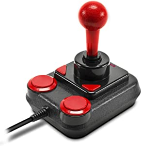 Speed-Link COMPETITION PRO EXTRA USB Joystick - Anniversary, Negro-rojo