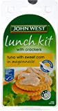 John West Tuna and Sweetcorn in Mayonnaise Lunch Kit, 108 Grams