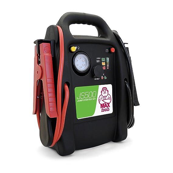 MAXTOOLS JS500 Arrancador de coche (12 V, máx. 2200 A): Amazon.es: Coche y moto
