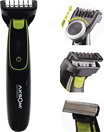 Range Sharp Blade Recortadora para Barba, Barbero eléctrico con ...