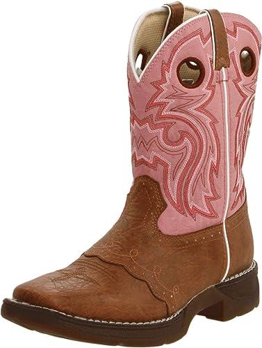 Durango Boots Stiefel BT287/387 Braun Kinder Westernreitstiefel