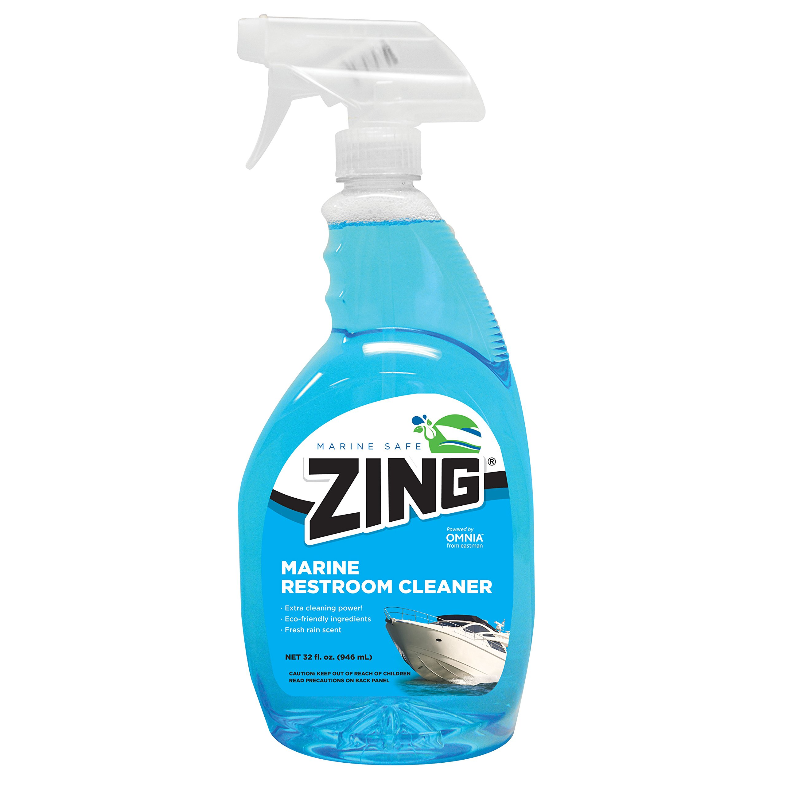 ZING 10198 Marine Restroom Cleaner - 32 oz. by Zing