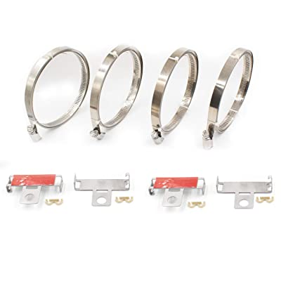TPMS - Accessories - Strap Kit (4 Straps, 4 Clips & 4 Keepers)