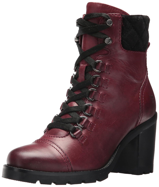 FRYE Women's Addie Hiker Ankle Bootie B01MV3P3MX 9 B(M) US Burgundy