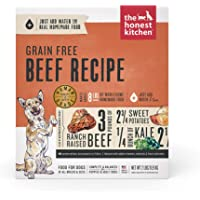 The Honest Kitchen Human Grade Dehydrated Grain Free Dog Food – Complete Meal or Dog Food Topper