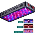 Luxauto 1000-Watt LED Grow Light with Lens Tech Daisy Chain Design