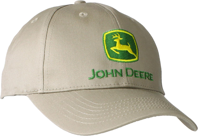 John Deere - Gorra de béisbol para hombre - Beige - talla única ...