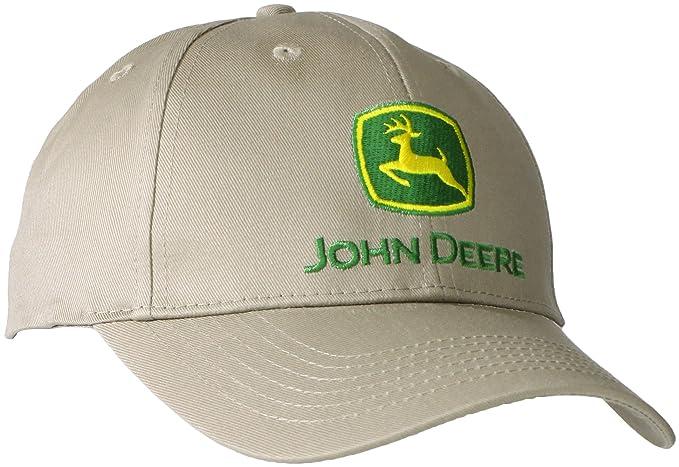 John Deere - Gorra de béisbol para Hombre - Beige - Talla única: Amazon.es: Ropa y accesorios