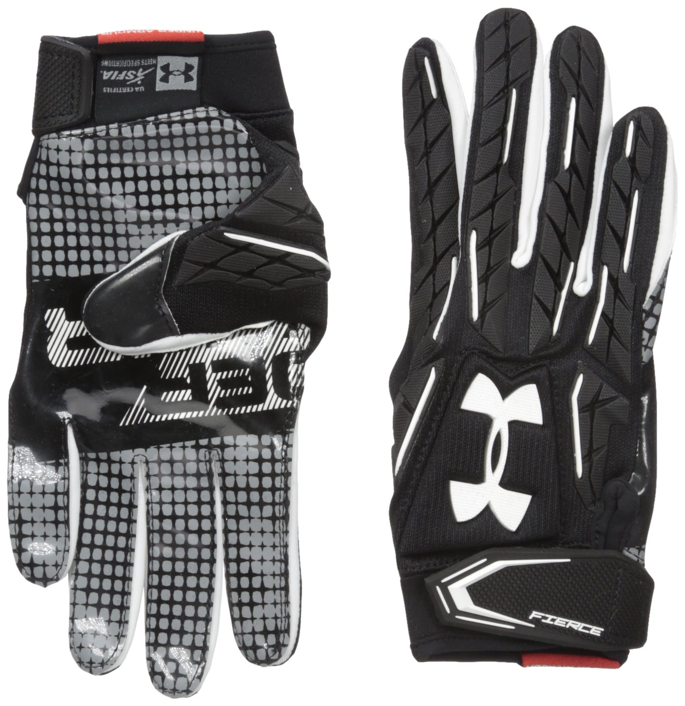 under armour american football gloves