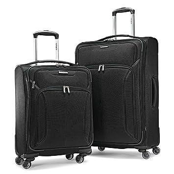 9fcbfb1dac86 Amazon.com: Samsonite 2-Piece Spherion Luggage Set, Black: HonestTraders