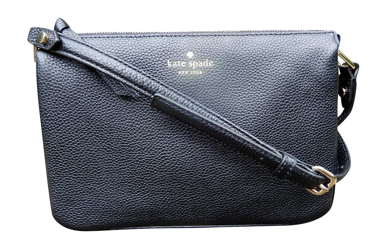 42fa4ee60e34 Amazon.com  Kate Spade New York Madelyne Mulberry Street Pebbled Leather Crossbody  Shoulder Bag