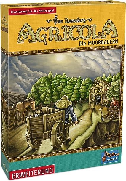 Lookout Games 22160031 Agricola – Moor Campesinos, ampliación (Nuevo diseño), Multicolor: Amazon.es: Juguetes y juegos