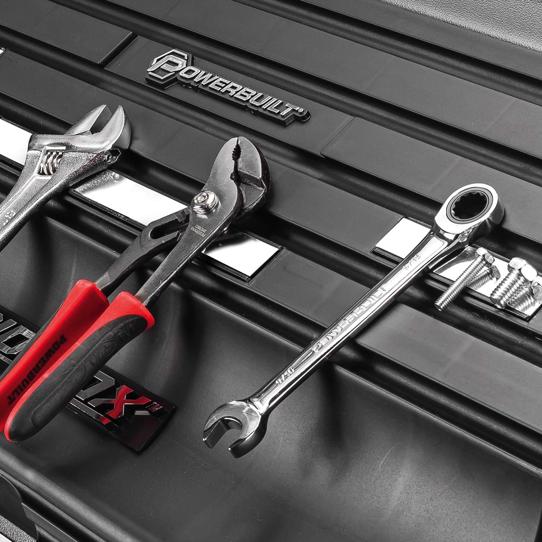 Powerbuilt 26'' Rapid Box Portable Slant Front Tool Box w/Tool Magnets - 240102 by Powerbuillt (Image #3)