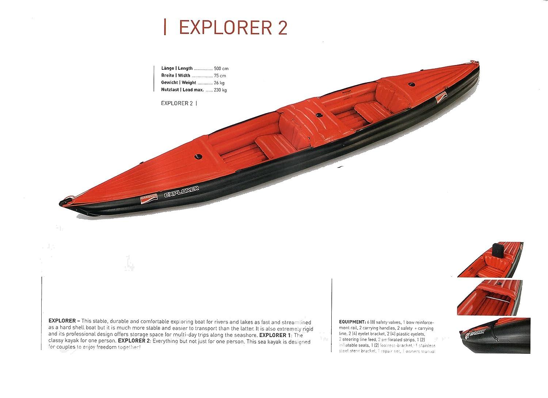 GRABNER EXPLORER2 グラブナー ボート エクスプローラー2   B07BK49HBG