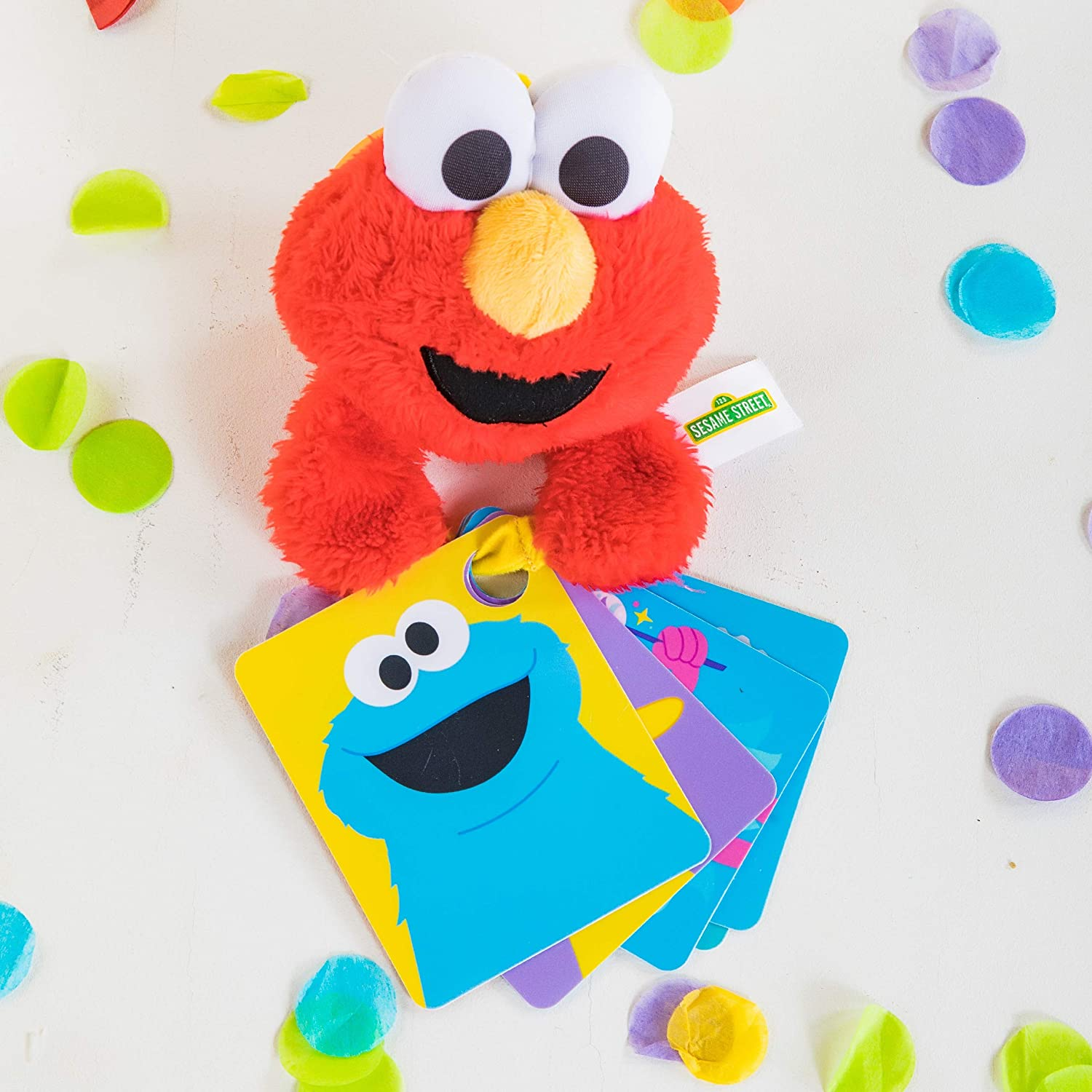 Bright Starts Sesame Street ABC Fun with Elmo On-The-Go Take-Along Toy Ages 0-12 Months