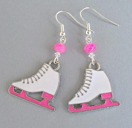 Skater skateboard earrings