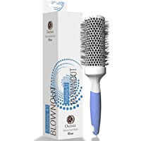 Professional Round Brush for Blow Drying – Medium Ceramic Ion Thermal Barrel Brush for Sleek, Precise Heat Styling and Blowout Volume – Lightweight, Antistatic Bristle Hair Brush by Osensia (1.7 Inch)