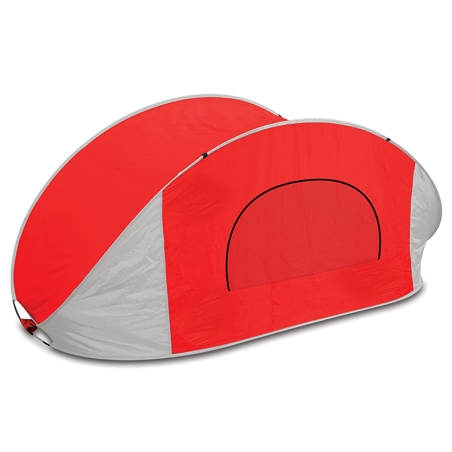 Amazon.com Picnic Time Manta Portable Pop-Up Sun/Wind Shelter Red Garden u0026 Outdoor  sc 1 st  Amazon.com & Amazon.com: Picnic Time Manta Portable Pop-Up Sun/Wind Shelter ...