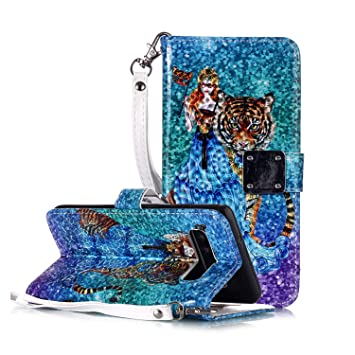 WIWJ Funda Samsung Galaxy S10 Carcasa 3D Espejo Disney PU ...