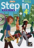Let's Step in Anglais 4e (manuel de l'élève + 1CD audio)