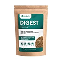 Herbaly Digest Tea - Aids Digestion | Detoxifying | Calms Stomach | Soothing | Ease