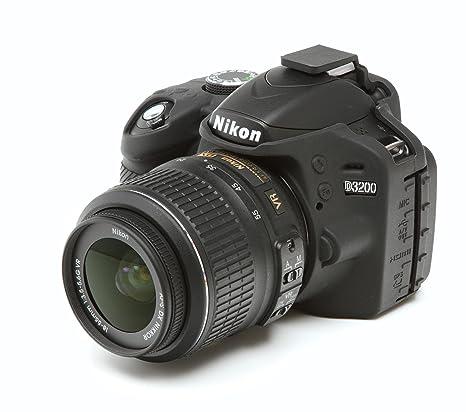 Fácil de Silicona Funda para Nikon D3200 con Protección De ...