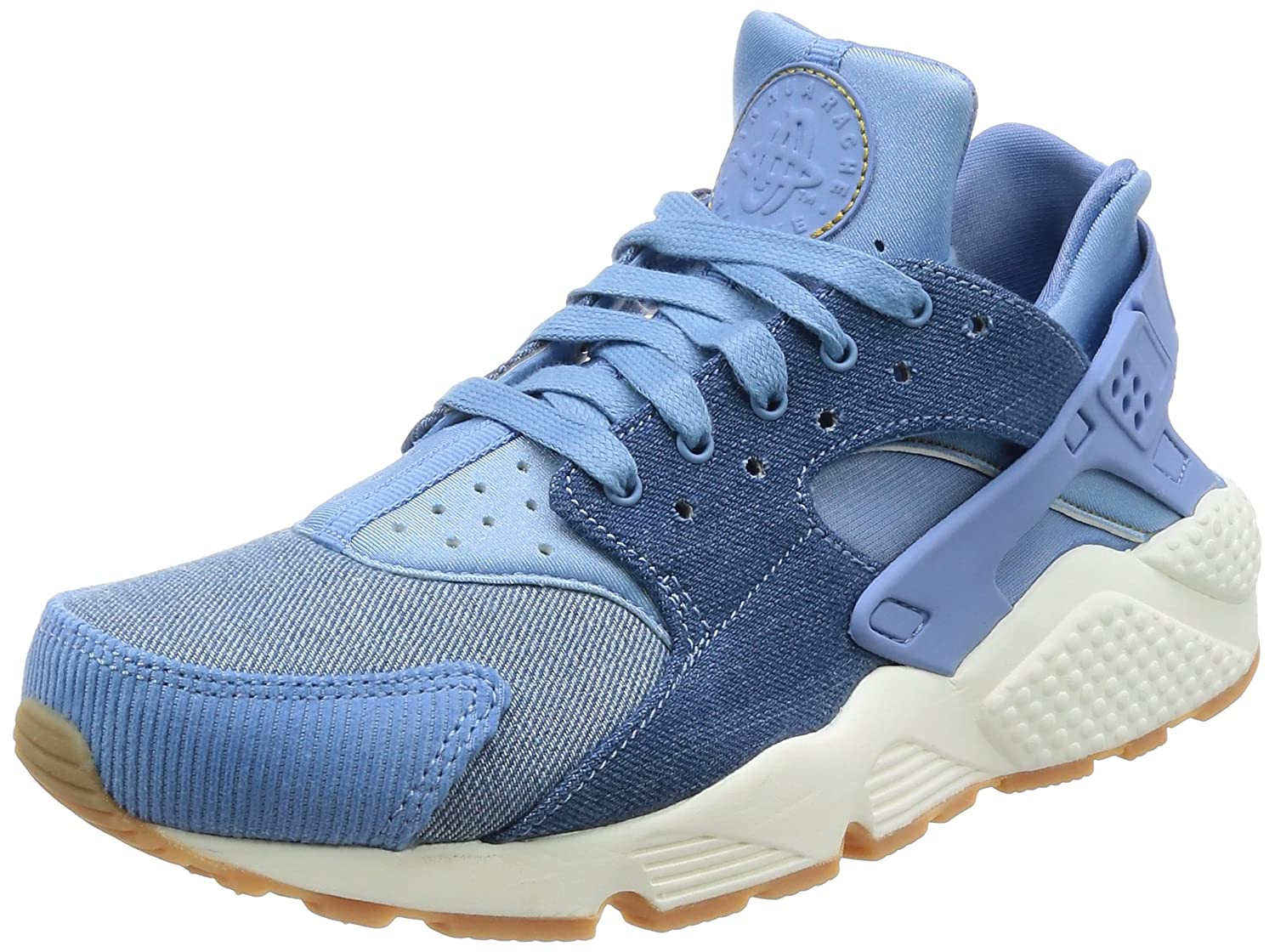 Damen Damen Damen Air Huarache Run SE December Sky/Gold Dart Sail Running Schuhe 4c3d00