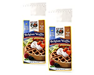 New Hope Mills Easy To Make Belgian Waffle Mix- Two 16 oz. Bags
