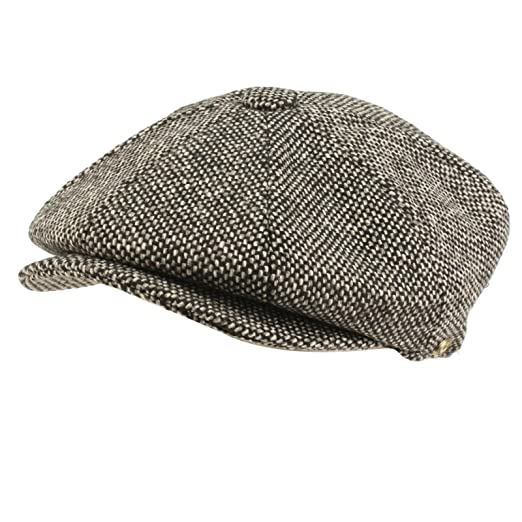 292e9d87aa0 SK Hat shop Men s 100% Wool Winter Classic Tweed newsboy Cabbie Gatsby Cap  Hat X