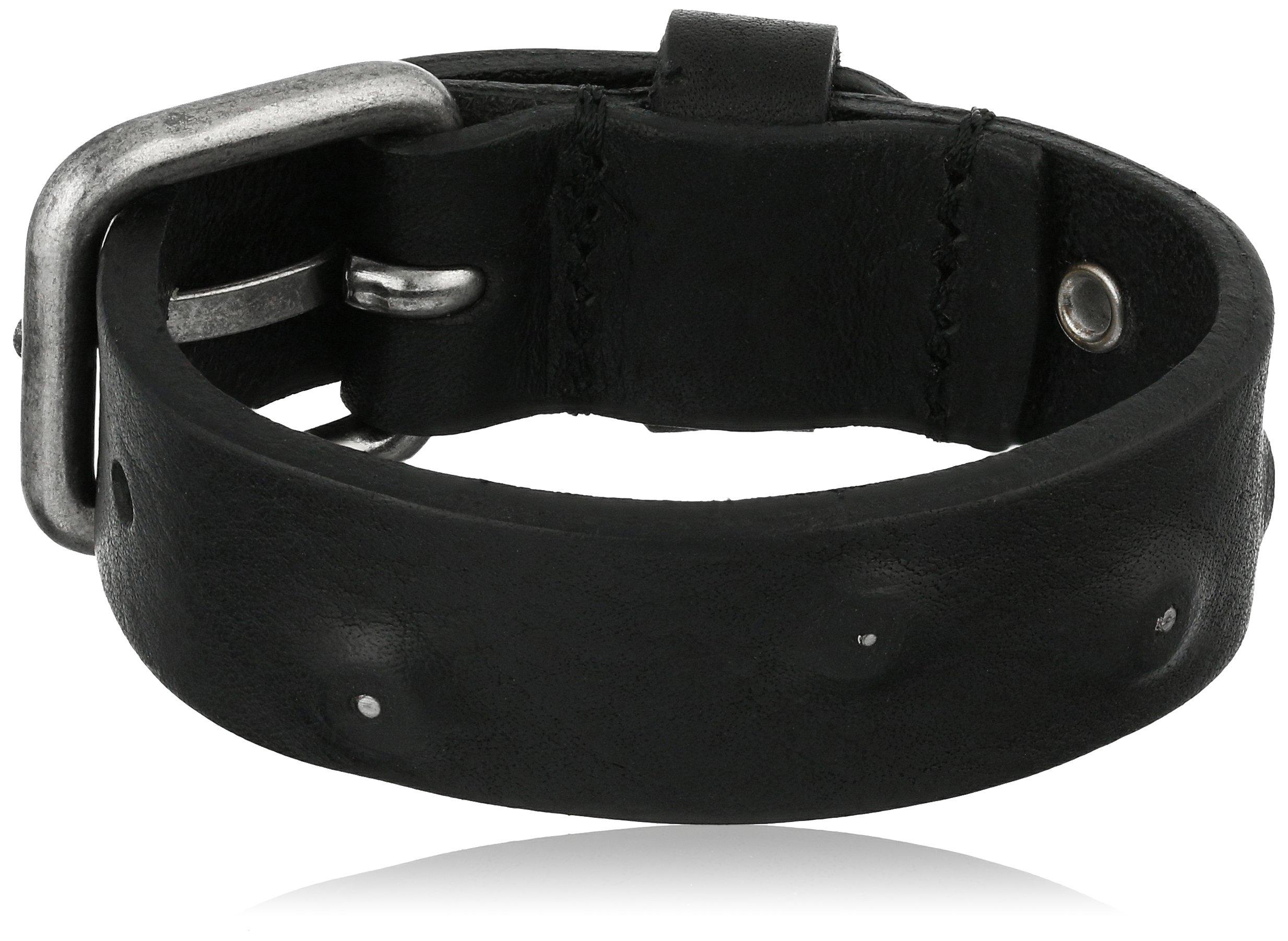 Diesel Men's Avicious Bracelet, Black, One Size