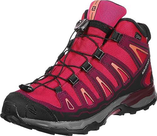 Salomon X-Ultra Mid GTX J, Zapatillas de Senderismo Unisex niños: Amazon.es: Zapatos y complementos