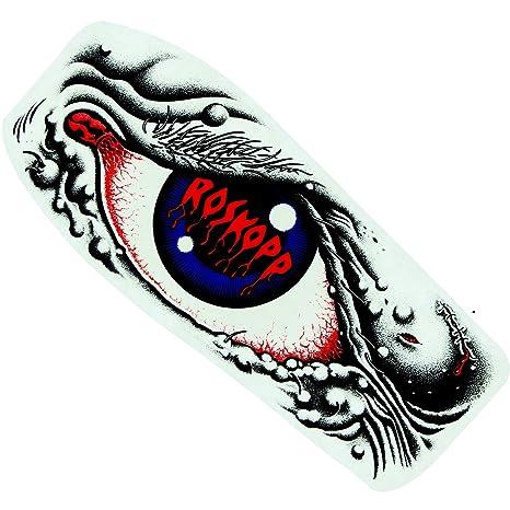 Santa Cruz Roba - Adhesivo para ojos, 6,35 x 13,97 cm, color negro/azul/rojo: Amazon.es: Deportes y aire libre