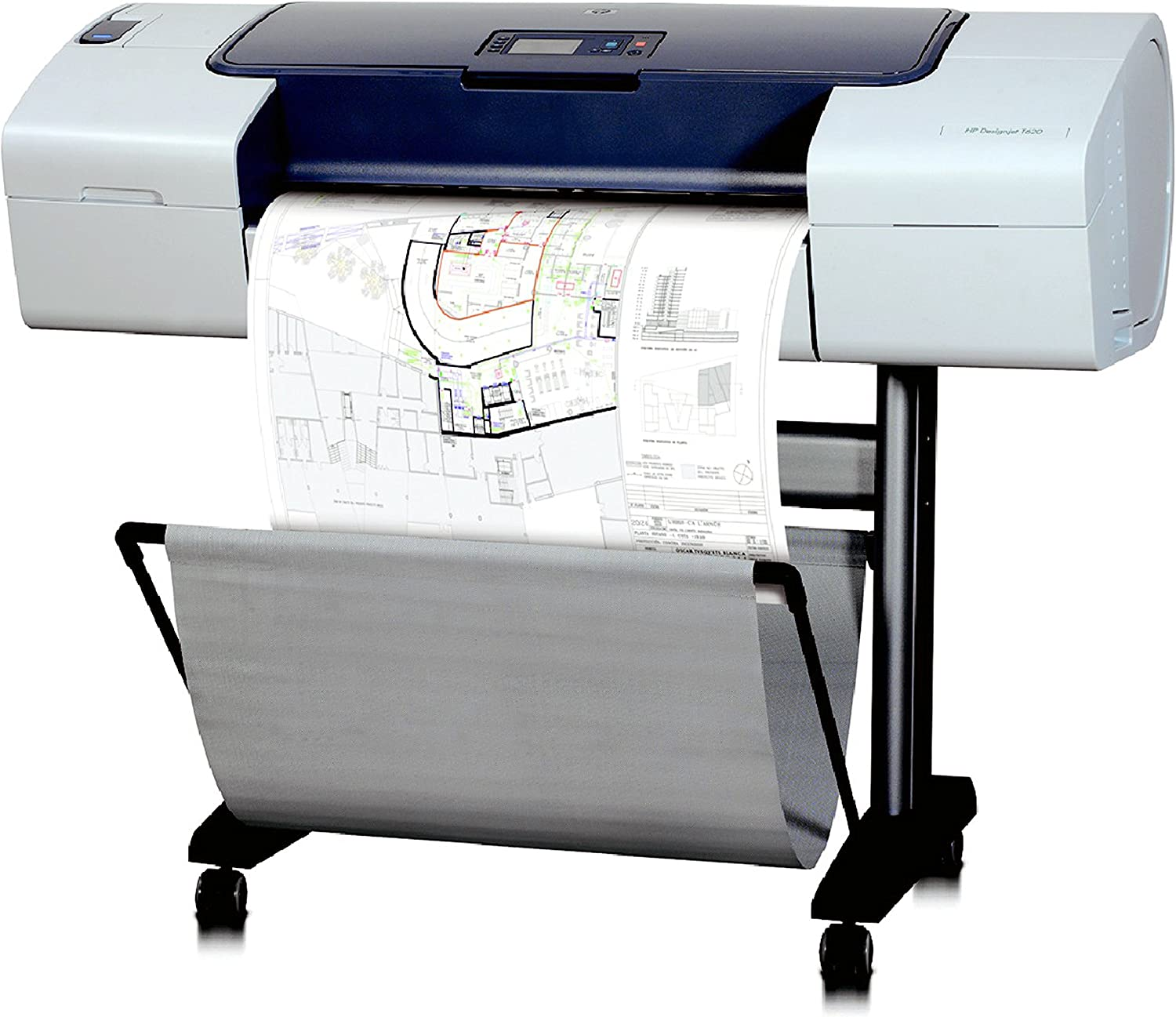 HP Designjet T620 24-in Printer - Impresora de gran formato (HP-GL ...