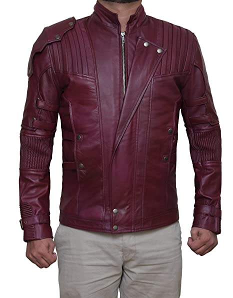 Guardians of Galaxy Star Lord Vol 3 Leather Jacket ...