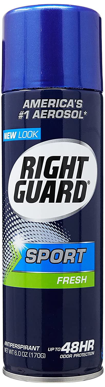 Right Guard Antiperspirant Spray, Sport Fresh 6 oz PerfumeWorldWide Inc. Drop Ship U-BB-1303